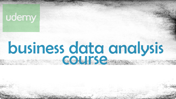 business data analysis course
